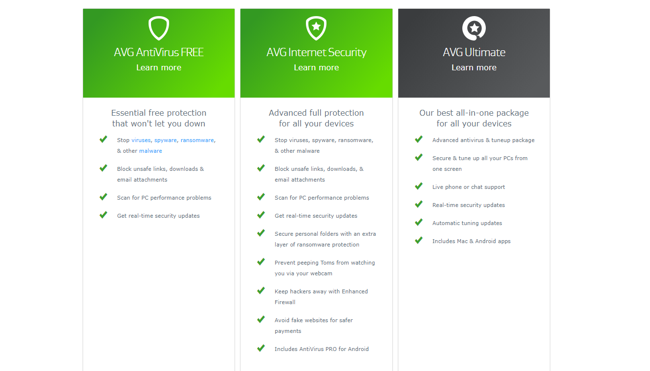 McAfee vs AVG | Head to Head Comparsion & Review 2019